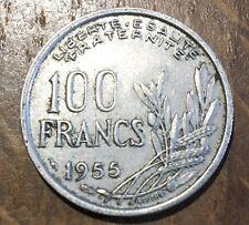 PIECE DE 100 FRANCS COCHET 1955 (160)