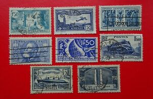 France 1930's 1.50 F Collection. Very Fine Used