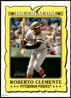 Roberto Clemente 2021 Topps Heritage 5x7 The Great One #GO-13 /49 Pirates