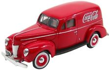 Ford Sedan Delivery 1940 Coca cola coche modelo 1 24 / motor City Classics
