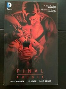 Final Crisis / Grant Morrison / Black Adam / JLA  Graphic Novel   DC Comics