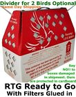 10pcs Horizon Shipping Boxes Live Birds Chickens Poultry Ducks Gamefowl Pheasant
