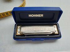 M. HOHNER BLUES HARP MADE IN GERMANY Mundharmonikas Blasinstrumente