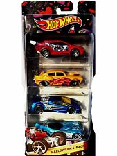 Hot Wheels 2015 Halloween Die-Cast Cars 4 Pack, NEW, Sealed