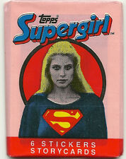 Supergirl: The Movie Trading Cards + Stickers (Topps, 1984) Wax Pack