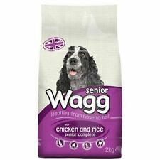 Wagg Complete Senior With Chicken & Rice And Yucca Extract Dog Food Treats 2kg