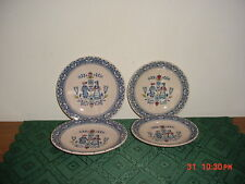 "4-PC JOHNSON BROTHERS ""HEARTS & FLOWERS"" BREAD PLATES AND SAUCERS/CLEARANCE!"