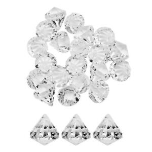 20pcs Acrylic Chandelier Crystal Beads Hanging Pendant Wedding Party Decor
