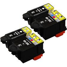 4 Pack 30XL 30 XL Black & Color Ink Cartridges for Kodak Hero 2.2 Printer