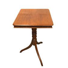 19th Century English Regency Mahogany Tilt Top Table