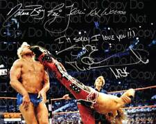 Shawn Michaels Ric Flair Nature signed 8X10 photo picture poster autograph RP