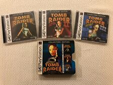 Tomb Raider Collector's Edition * Trilogy Box * ( Sony PlayStation )PS1,Complete