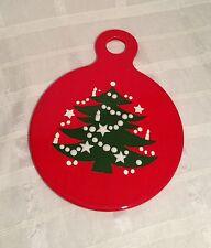 WAECHTERSBACH W. Germany CHRISTMAS TREE Pattern CHEESE & CRACKER Serving Board