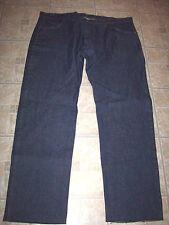 Seams jeans 50xOB dark blue work 50 USA big tall uniform plus mens unhemmed NWOT