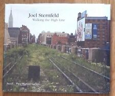 SIGNED - JOEL STERNFELD - WALKING THE HIGH LINE - 2012 1ST EDITION & 3RD PRINTNG