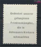 DDR Adenauermarke (kompl.Ausg.) mit Wasserzeichen 2 Y I postfrisch 1953(9119696