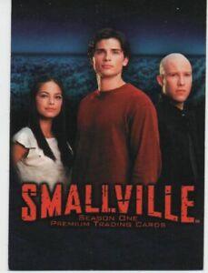 set complet de 90 cartes smallville saison 1