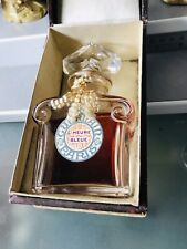 """VTG """"L'HEURE BLEUE"""" PERFUME EXTRACT BY GUERLAIN Paris - 🇫🇷 1920s IN 'Baccarat'"""