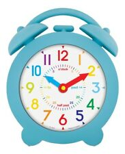 Acctim 22169 Bell Time Teach Wall Clock Blue