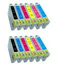 MULTI PACK 12 TINTAS GEN COMPATIBLE FOTO NONOEM EPSON PX650 PX660 PX710 R265 PX
