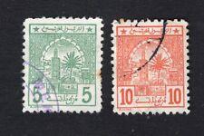 Marocco Scherifische Post 1912-13 2 stamps Mi#3x-4x used CV=13€