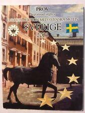 Sweden Euro 2003 Pattern Set - Probe, Essai, Trial, Europroben
