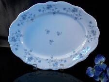 "Johann Haviland Bavaria Blue Garland 14 7/8"" Oval Serving Platter"