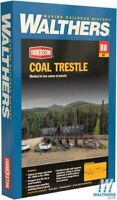 Walthers 933-4093 Coal Trestle Kit HO Scale Train