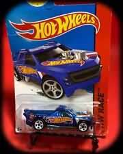 Hot Wheels 2014 FIG RIG #143 Blue;Race