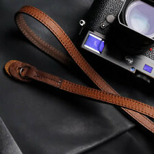 Double Sided Italian Cowhide Genuine Leather Handmade cameras head neck Strap