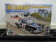 Revell    1:25  1957 Chevy Black Widow Stock Race Car  RMX4441-NEW