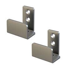 Stainless Steel Floor Guide Wall Mount Sliding Barn Door 1-1/4