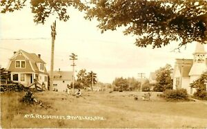 Early Homes / Residences ~ST. / SAINT HELENS - OREGON~ Sharp Old RPPC, 1913