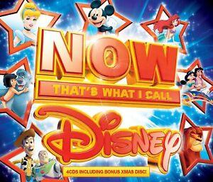 Now That 'S What I Call Disney 4CD Bonus Natale Disco Include Frozen