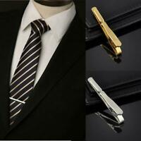 einfache präzise gold, silber, schwarz krawatte pin metall krawattennadel