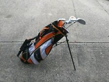 Tommy Armour - Right Handed Hot Scot Junior Kids 5 Clubs & Golf Bag Set