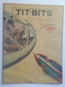 SIDEREAL WAR! - TIT-BITS #2412 (1955) - ORIGINAL COMIC IN SPANISH - ARGENTINA
