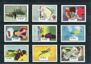 Cinderella / Poster Stamps Dreams of Flight Airplanes Parachute