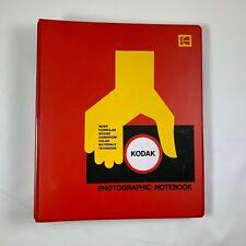 Vintage Kodak Photographic Notebook with 3 Books