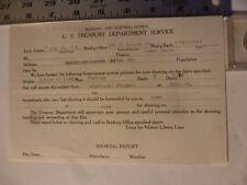 Movie Billhead-U.S. Treasury 5/12/1918 Battle Of Banthe-Documentary
