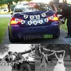 JUST MARRIED Wedding Banner Party Decoration Bunting Garland Handmade