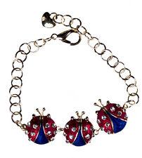 Patriotic Ladybug Bracelet