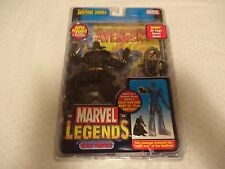 "Marvel Legends 6"" Action Figure Sentinel Series Black Panther Toy Biz New"