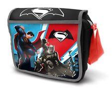 Batman V Superman Lunch Bag Childrens School Nursery Kids DC Comics OFFICIAL