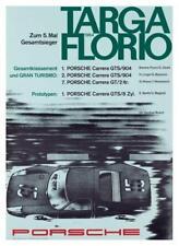 Porsche *POSTER* 1964 TARGA FLORIO 904 Carrera GT Race Car 911 - BEAUTIFUL PRINT