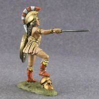 Miniature Female Amazon Woman Warrior Painted 1/32 Sculpture Toy Soldiers 54mm