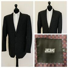 Jacamo Mens Jacket Blazer Chest 48 Grey Check Plaid Wool Blend  GR903