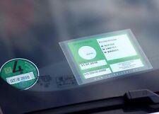 Schutzhülle Glasmagnet Parkausweis -Handwerker- selbsthaftend ADAC geprüft
