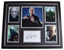 Ralph Fiennes SIGNED Framed Photo Autograph Huge display Harry Potter Film COA