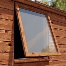Plastic Glass Shed Window. 2mm Perspex Safety Glass 24x24inch. 610x610mm